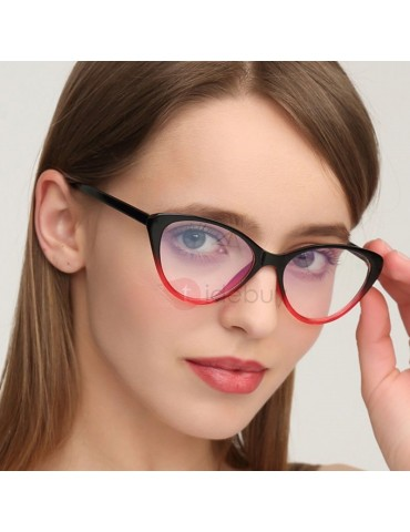 Cat Eye Poly Carbonate Vintage Sunglasses For Women