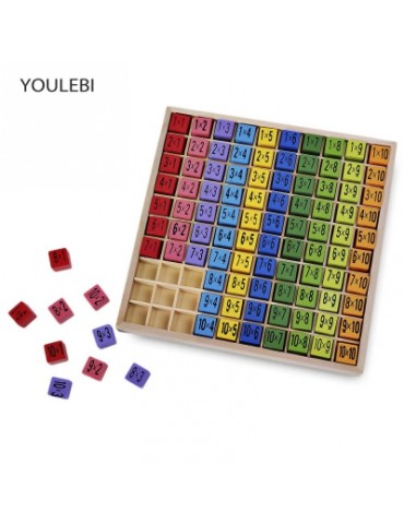 YOULEBI Multiplication Table Educational Toy