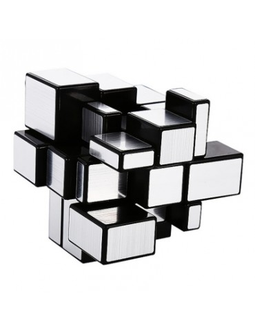 Speed Puzzle Gold and Silver Creative Irregular Mirror Magic Cube